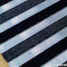Грязезащитное покрытие Ворс-алюминий 14 мм