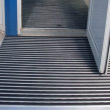 Грязезащитные алюминиевые придверные решетки