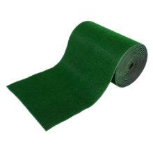 Коврик-дорожка 0,90*15 м ТРАВКА на противоскользящей  основе зеленый рул VORTEX/1