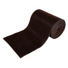 Коврик-дорожка 0,90*15 м ТРАВКА на противоскользящей основе темно-коричневый рулон VORTEX/1