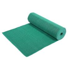 Коврик-дорожка ПВХ  Zig-Zag 5 мм 0,9*10 м, против скольжения, зеленый VORTEX /1