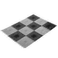 Коврик ТРАВКА 42*56 см, черно-серый VORTEX/10