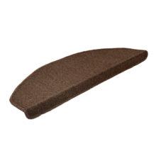 Коврик на ступеньку 25*65 см, коричневый  VORTEX /12