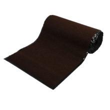 """Коврик влаговпитывающий, ребристый  90*1500 см """"VORTEX"""", коричневый / 1"""