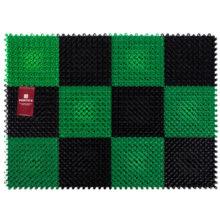 Коврик ТРАВКА 42*56 см, черно-зеленый VORTEX/10