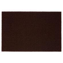 Коврик 60*90 см ТРАВКА  на противоскользящей  основе темно-коричневый  VORTEX/20