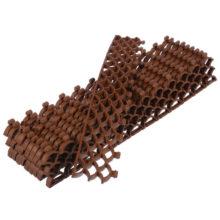 Модульное покрытие 10мм, коричневый, в комплекте 10 модулей (38х6х1см), площадь покрытия 0,19м2, Vortex/5