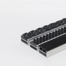 Алюминиевая решетка Щетка-ворс-резина 20 мм