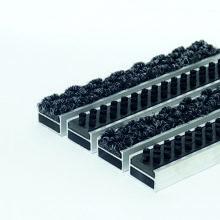 Алюминиевая решетка Ворс-щетка 20 мм