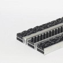 Алюминиевая решетка щетка-ворс-скребок 20 мм